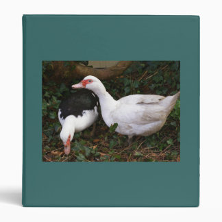 Two Muscovies 3 Ring Binder