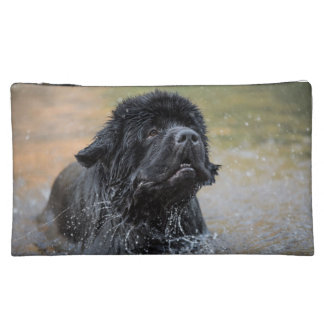 Two newfies double sided make-up bag