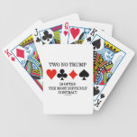Two No Trump Is Often The Most Difficult Contract Bicycle Card Deck