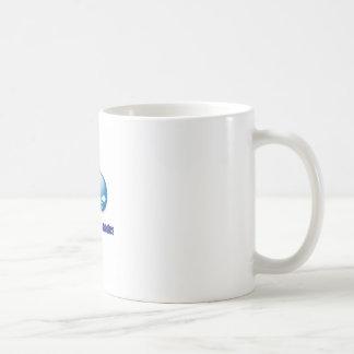 two nodes classic white coffee mug