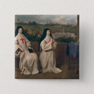 Two Nuns Button