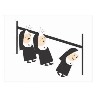 Two nuns... postcard