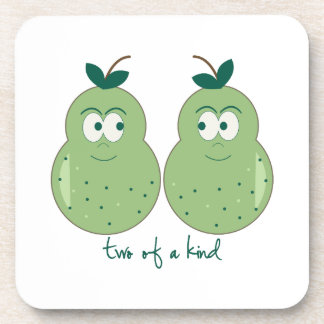 Two Of A Kind Beverage Coaster