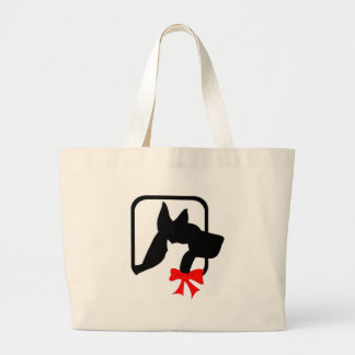 Two of a Kind Large Tote Bag