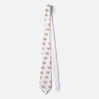 Two of a Kind Skulls Neck Tie