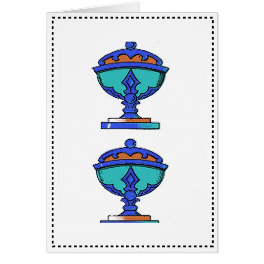 TWO OF CUPS DESIGNS CARD