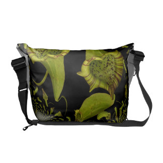 Two of Hearts Messenger Bag