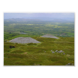 Two Of The Carrowkeel Tombs Print