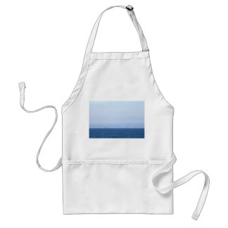 Two Oil Rigs Adult Apron