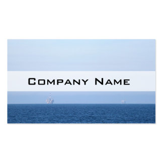 Two Oil Rigs Business Card
