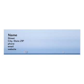 Two Oil Rigs Mini Business Card