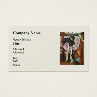 Two Old-Fashioned Bonnets Business Card