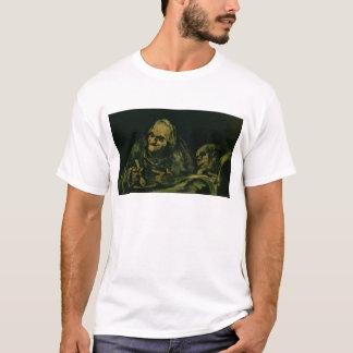 Two Old Men Eating T-Shirt