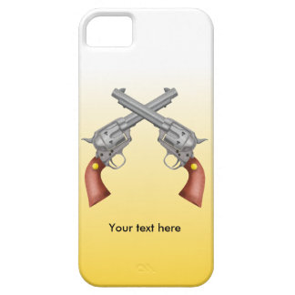 Two old west crossed pistols - Revolver iPhone SE/5/5s Case