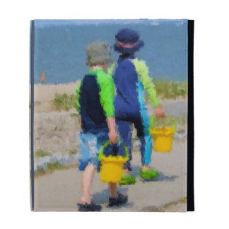 Two on the Beach iPad Folio Cover