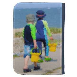 Two on the Beach Cases For The Kindle