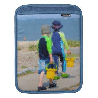 Two on the Beach iPad Sleeve