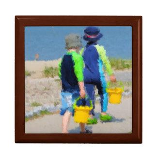 Two on the Beach Keepsake Box