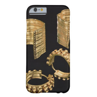 Two open facetted bracelets and a pair of earrings barely there iPhone 6 case