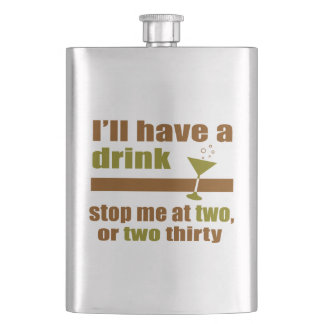 Two or Two Thirty Hip Flask