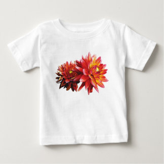 Two Orange Dahlias Infants T Shirt