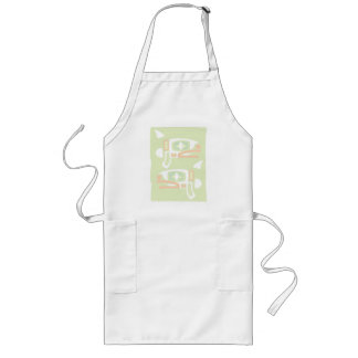 Two Orca Long Apron