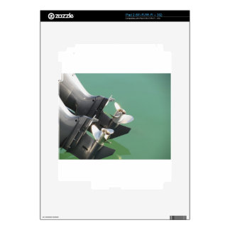 Two outboard boat motors iPad 2 skins