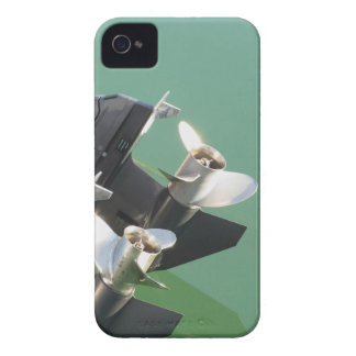 Two outboard boat motors iPhone 4 Case-Mate case