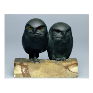 Two Owls, 1903-04 Postcard