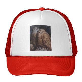 Two Owls by Gustave Dore Trucker Hat