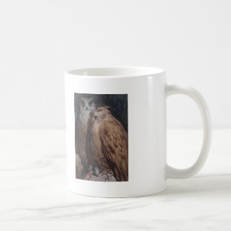 Two Owls by Gustave Dore Mugs