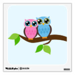 Two Owls Wall Skin