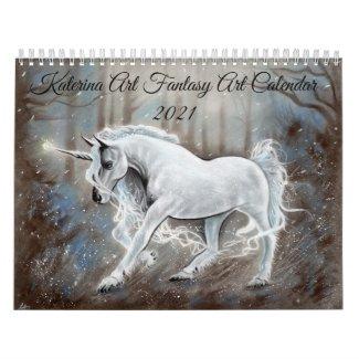 Two Page MediumCalendar, White Calendar
