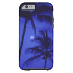 Two Palm Trees and Moon iPhone 6 Case