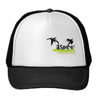 Two palm tREES Trucker Hat
