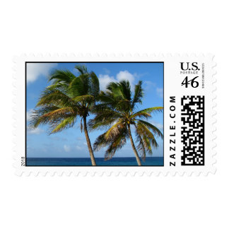 Two Palms Stamp