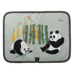 Two Pandas With Mango, Bamboo Smartphone Planner