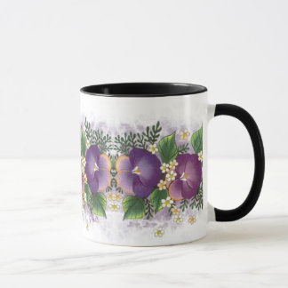 Two Pansies ... Thinking of you! Mug