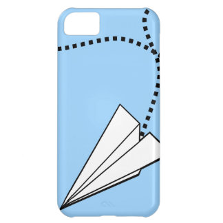 Two Paper Airplanes iPhone 5C Cases