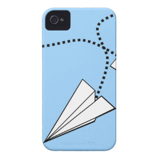 Two Paper Airplanes Case-Mate iPhone 4 Cases
