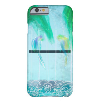 Two Parakeets Barely There iPhone 6 Case