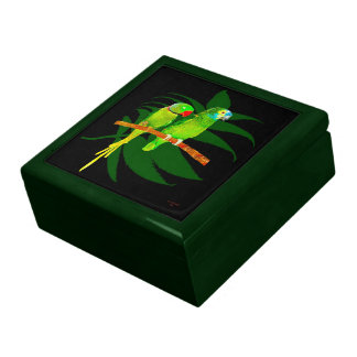 Two Parrots Gift Box