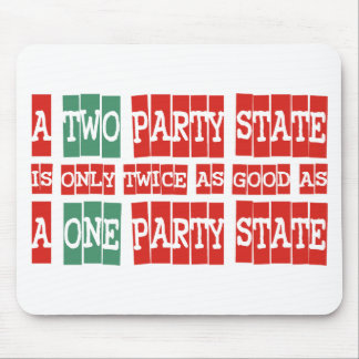 Two Parties Mouse Pad