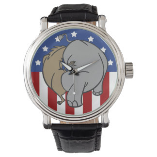 Two Party System Explained Wristwatch