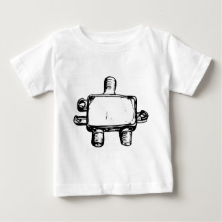 Two Paths Converged Baby T-Shirt