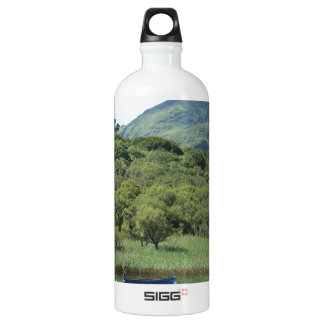 Two peaceful Canoes Water Bottle