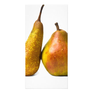 Two pears card