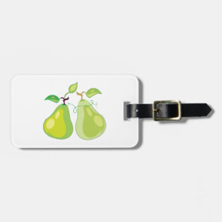 Two Pears Tag For Luggage