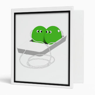 Two Peas in a Pod 3 Ring Binder