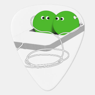 Two Peas In A Pod (Add Your Text) Guitar Pick